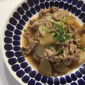 美味しい☆豚コマと大根の煮物