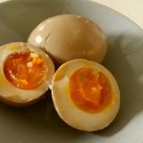 チャーシューの煮汁で煮玉子