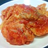 鶏もも&キャベツのトマト煮