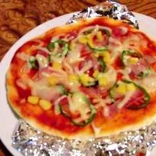 ★簡単★ベーコンミックスピザ!