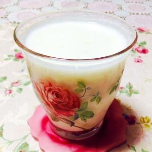 牛乳とヨーグルトで♡とろとろ〜爽やかドリンク