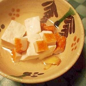 素朴☆ひら天入れて湯豆腐