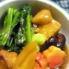 金沢の伝統料理!とろ~り治部煮(鶏肉で)