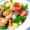 海老と野菜のアジアン炒め