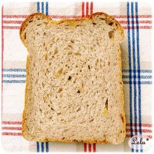 おからライ麦クルミ食パン