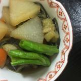 茄子と大根とししとうの煮物(^^)