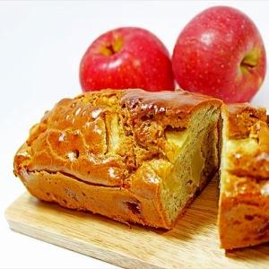 パンケーキミックスで簡単★りんごのパウンドケーキ