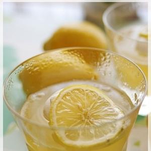 レモンワインゼリー