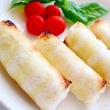 簡単♪トロリと美味しいチーズソーセージロールパン