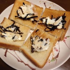 クリームチーズとしそ昆布ディップ
