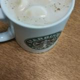 マシュマロで甘いカフェラテ☆