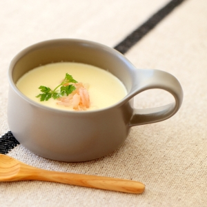 簡単!!カリフラワーとエビのスープ
