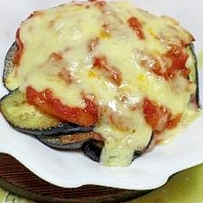 なすとトマトソースのチーズ焼き