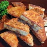 美味しいです!!海老芋(里芋)のステーキ