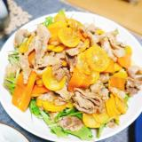 豚肉とズッキーニの塩生姜焼