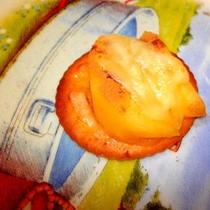 柿とチーズのリッツ
