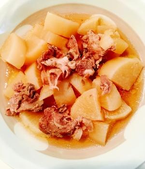 圧力鍋使用☆大根と豚肉の煮物