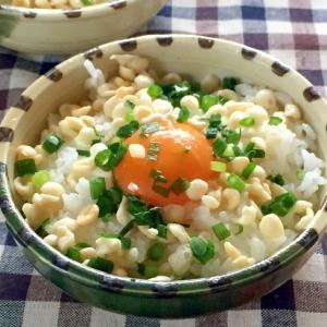 釜玉うどん風♫ウチの卵かけご飯