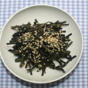 簡単美味☆食品乾燥機☆乾燥わらびでナムル
