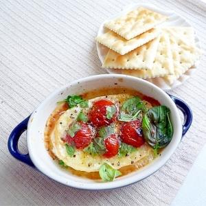 焼きカマンベールチーズ&トマトバジル