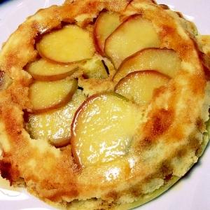 ホットケーキミックスで簡単!りんごケーキ