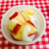 りんごとはちみつのヨーグルト