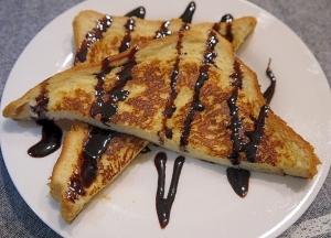 食べたい時にすぐ出来る♪簡単フレンチトースト