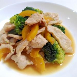 ご飯に合う☆豚肉とブロッコリーのバターしょうゆ炒め