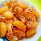 鶏手羽元と大根の甘酢煮