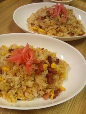 豪快☆焼き豚炒飯