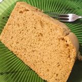 キャラメルモカの米粉シフォンケーキ