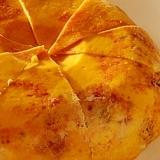 炊飯器でPON、大人のパンプキンブルーチーズケーキ