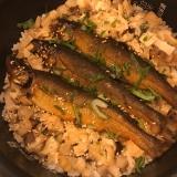 【お節残り物リメイク】簡単 鮎甘露煮の炊き込みご飯