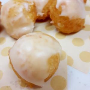 HMで(^^)!豆腐のグレーズドドーナツ♪