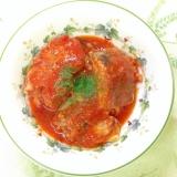 鯖缶のトマトジュース煮