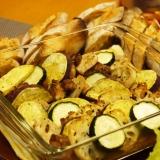 チキンと秋野菜の和風オーブン焼き