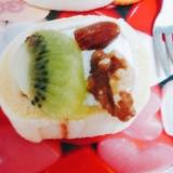 キウイナッツのロールケーキ