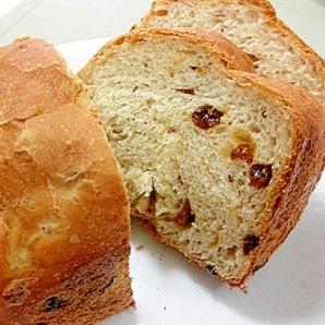 HBで作るレーズン入り豆腐パン(半斤分)