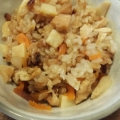 筍と油揚げの炊き込みご飯