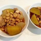 ホクホク美味しい☆鶏胸肉と大豆と薩摩芋の煮物