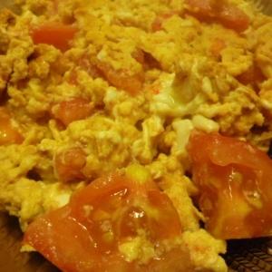 蕃茄煎蛋(トマトと卵炒め)