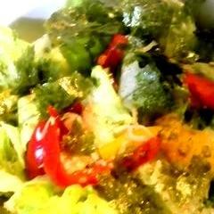 しらすとのりのレタスサラダ
