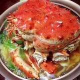 京風だしで簡単!初タバラ蟹鍋