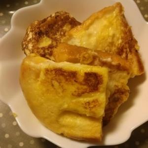 クリープでフレンチトースト