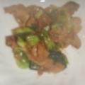 簡単 青梗菜と豚肉のオイスターソース炒め
