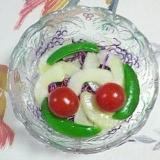 紫キャベツの白ワインビネガーサラダ~♪