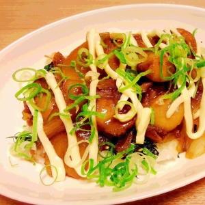 ホタテで照り焼き丼✨ ご飯がすすむ(*^^*)