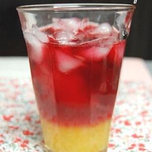 おうちカフェ♪オレンジと赤のセパレートティー。