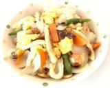 野菜と高野豆腐の白だし炒め