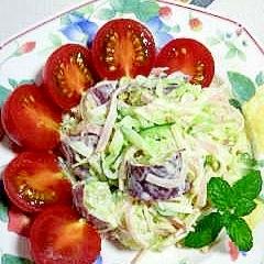 さつま芋で作るポテトサラダ